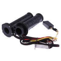 Motorcycle Modified Electric Handle Thermostat Handle Sets Adjustable Temperature Motorbike Heating Handbar Grips ME3L