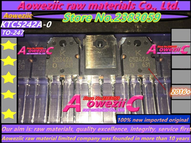 Купить с кэшбэком 100% new imported original KTA1962A-0 KTA1962A-O KTC5242A-O A1962A C5242A KTA1962A KTC5242A  Audio power amplifier (1 / pair)