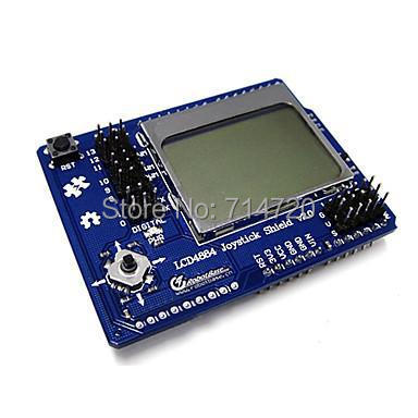 DFRobot - Graphic LCD4884 Shield for (For Arduino)
