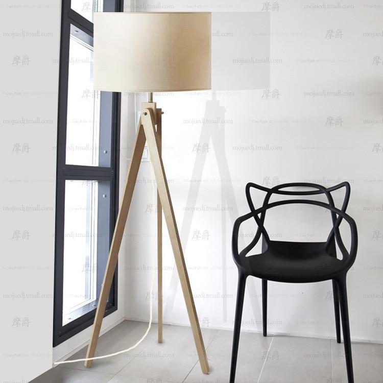 Continental wooden tripod floor lamp ikea bedroom personalized gift ideas muji plain linen floor - Tripod lamp ikea ...