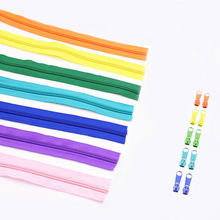 Alipress 20Meters/lot 5# Nylon Coil Zippers For DIY Sewing Home Textile Tailor Accessories 22 Colors Available(China)