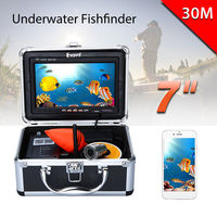 EYOYO 7 LED 30m HD 1000TVL IP68 Underwater Boat River Lake Sea Ice Fishing Camera Video