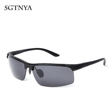 Fashion sports sunglasses men and women with polarized glasses brand designer UV400