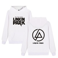 ALIZAZA 2017 New Arrival LINKIN PARK Hoodies Men Women Letters Print Band Sweatshirts Streetwear Coat Casual