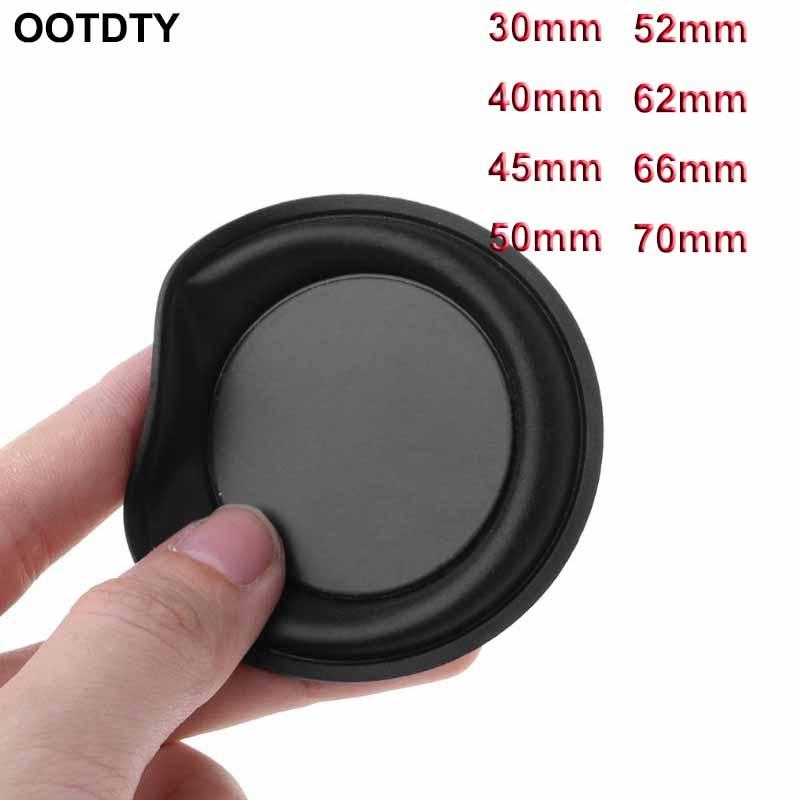 2PCS Woofer Vibração Da Membrana 66 milímetros Radiador de Graves Passivo Subwoofer Speaker Repair Kit DIY