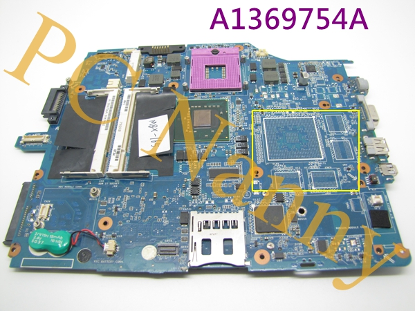 For Sony VAIO VGN-FZ240E Laptop Motherboard A1369754A MBX-165 laptop bottom case for sony vgn fw355j vgn fw378j 013 000a 8129 a