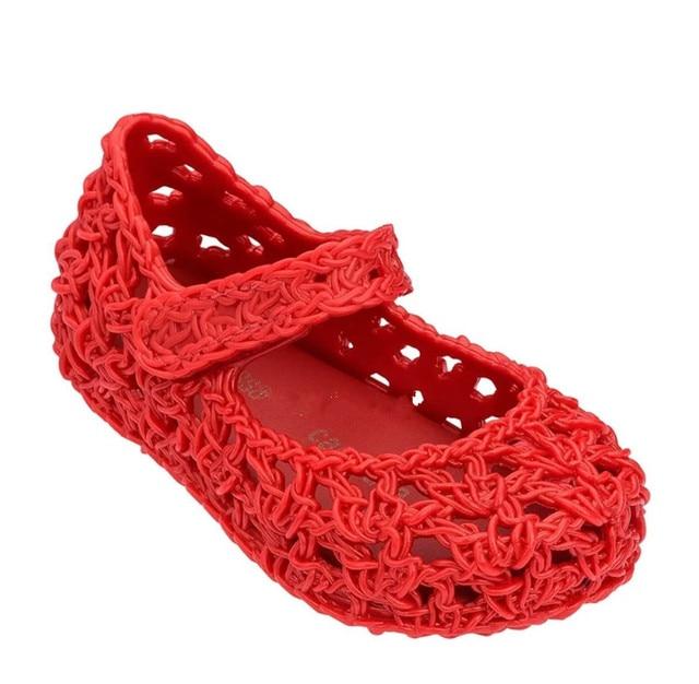 Chicas Hello Kitty Tamaño Infantil Minnie Mouse Rojo Informal Negro Zapatos planos de la escuela