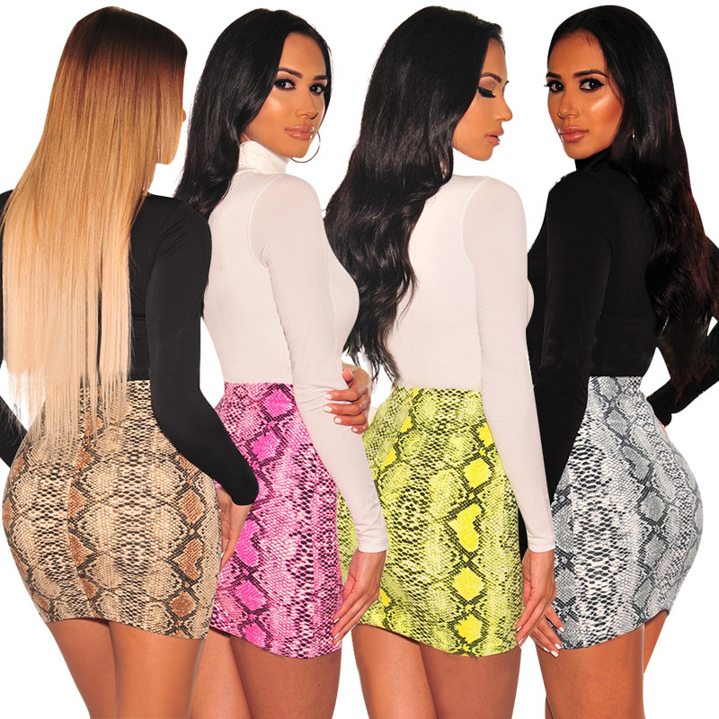 high waist skirt japanese clothes streetwear plus size women pink skirts boutique womens clothing elegant leopard pencil