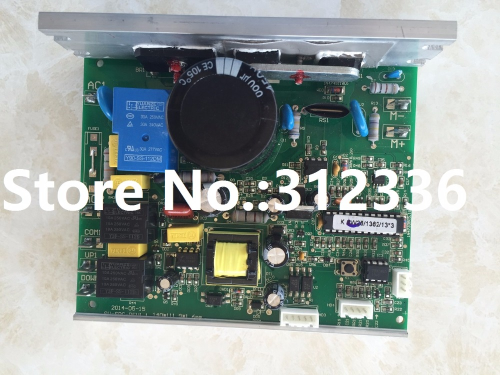 цена на Free Shipping 110V Motor Controller drive plate plate power plate single board computer OMA treadmill control circuit board