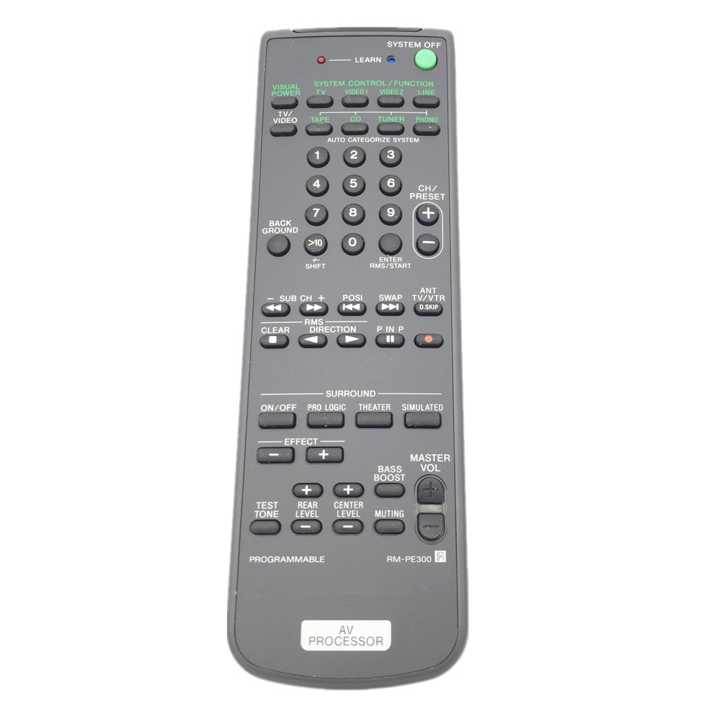 RM-PE300 Remote Control For SONY AV Receiver chunghop rm l7 multifunctional learning remote control silver