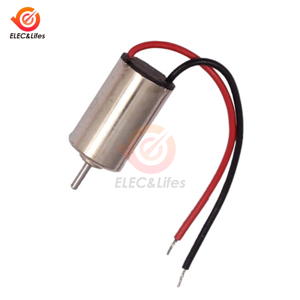 5Pcs DC 1.5V 3V <font><b>4.5V</b></font> 610 Micro DC <font><b>Motor</b></font> DIY Electric Toys Gear Hobby <font><b>Motor</b></font> 7500RPM High Speed Brushless <font><b>Motor</b></font> image