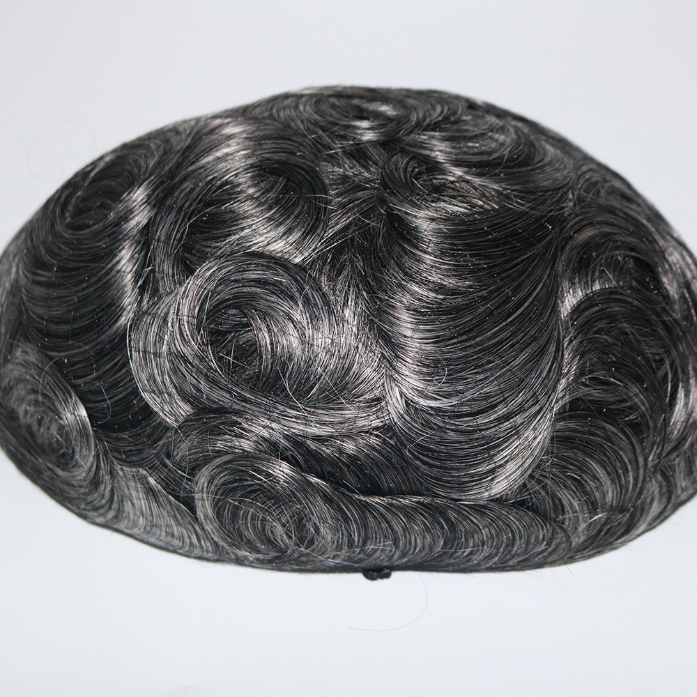 grey toupee wigs