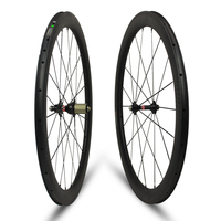 full carbon fiber 700c road bike wheels 50mm high 23mm wide carbon wheels clincher UD matte with R13 for road bicycle and bike