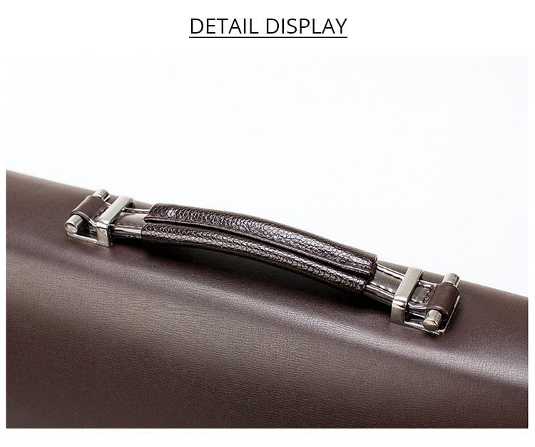 HTB10 A3OYrpK1RjSZTEq6AWAVXar 2020 Fashion Business Men Briefcase Leather Laptop Handbag Tote Casual Man Bag For male Shoulder Bag Male Office Messenger Bag