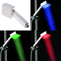 Popular And Portable LED Color Temperature Indicator Shower Without Package