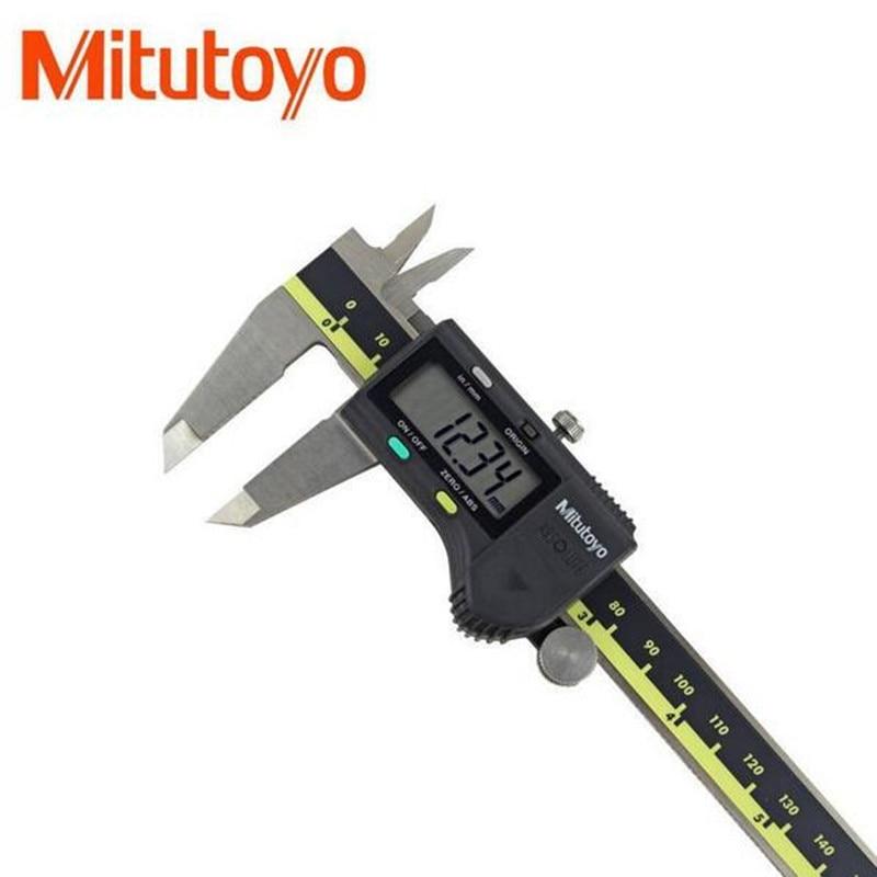 Mitutoyo Digital Vernier pinzas 0-150 0 0-200-300mm 500 LCD 196 20 pinza de mitutoyo calibre de medición electrónica de acero inoxidable