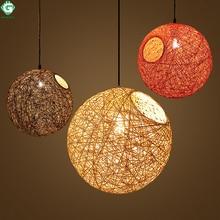 hot deal buy go ocean pendant lights led pedant light decor industrial restaurant rope lamp hanging lamps for living room loft lights