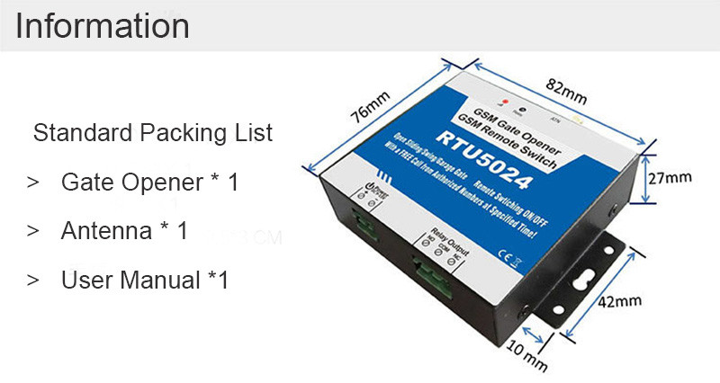 RTU5024-packing-list