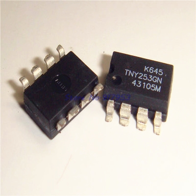 3pcs/lot TNY253GN TNY253G TNY253 SMD-8 In Stock