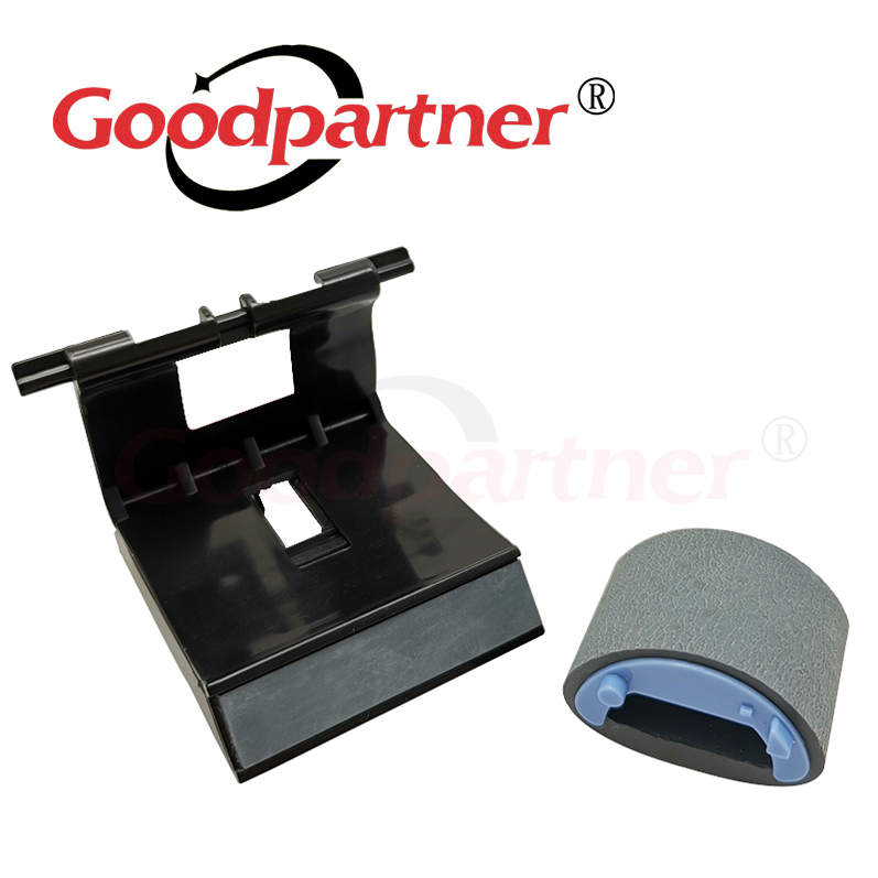 2X RL1-1497-000 RL1-1497 RM1-4207-000 RM1-4207 RM1-4227 Pickup Roller Separation Pad For HP M1522 M1120 M1536 P1505 P1566 P1606