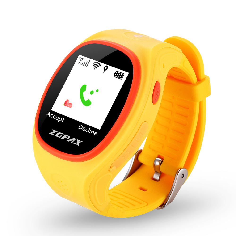 GPS GSM Child Fashion Smart Watch Kids Safe Smartwatch with Two Way Talk SOS Emergency Call Real Time Tracking for Android IOS wireless service call bell system popular in restaurant ce passed 433 92mhz full equipment watch pager 1 watch 7 call button
