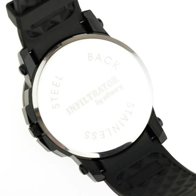 5ce4cd1334e INFANTARIA Relógio Militar Dos Homens Do Exército Preto Mens Relógios Top  Marca de Luxo Amarelo Grande
