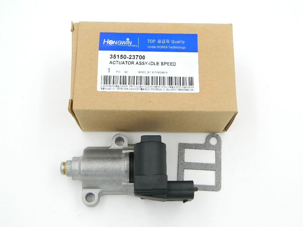 Idle Air Control Valve For HYUNDAI Elantra KIA Tiburon TUCSON Spectra 2003-2010 35150 23700/35150-23700/3515023700 dsfvw003 idle air speed control valve iac 034133455 35150 22000 0280140505 for vw gold jetta audi hyundai