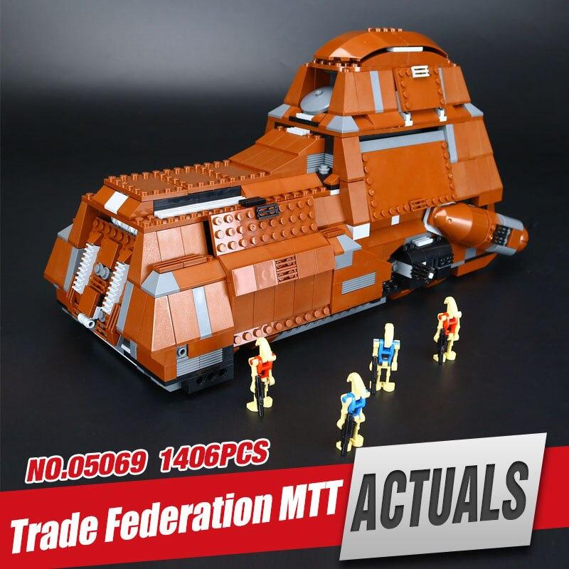 Lepin 05069 Star Series The Federation Transportation Tank Set MTT Building Blocks Bricks Legoing Wars Toy 7662 Christmas Gift