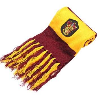 Шарфы для женщин Гриффиндор Слизерин Hufflepuff шарфы факультета рэвенкло костюмы для косплея подарок на Хэллоуин Харри Поттер косплэй