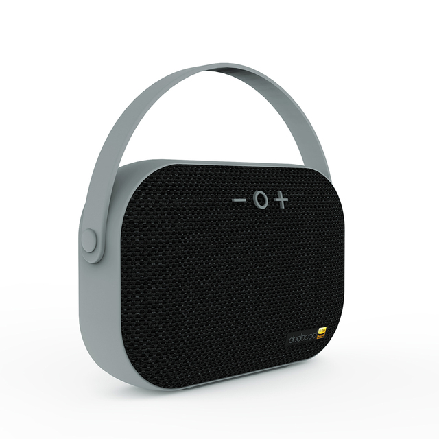 Dodocool Hola resolución recargable estéreo inalámbrico con micrófono TF tarjeta USB puerto auxiliar de 3,5mm TF tarjeta USB disco