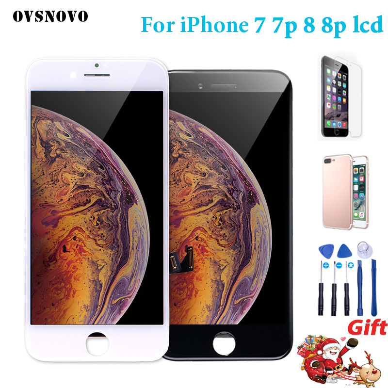 AAA +++ LCD Für iPhone 7 7 Plus 8 8 Plus LCD Display Touch Screen Ersatz 3D touch Für iPhone 6 7 7 p 8 p Bildschirm LCDS