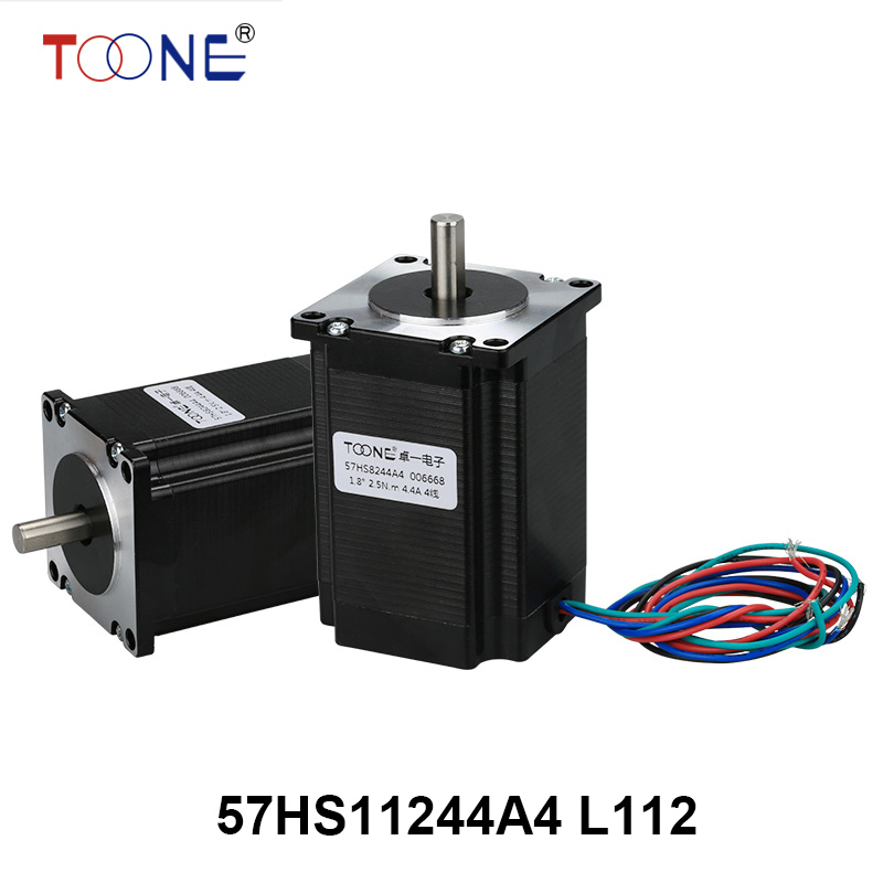 57 series motor drive two-phase stepper motor for single-axis output engraving machine 3D printing motor 57HS11244A4 L112 5786 stepper motor drive stepper drives b804 series of original