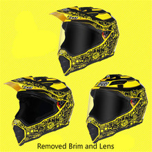 BYE brands motocross helmet off road downhill motorcycle helmets DOT approved racing quality motorbike S XXL