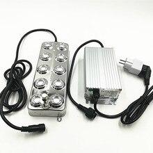 DC48V 10 глава 5 кг/ч промышленный ультразвуковой тумана Fogger ультразвукового распылителя с влагостойкие Питание туман увлажнители
