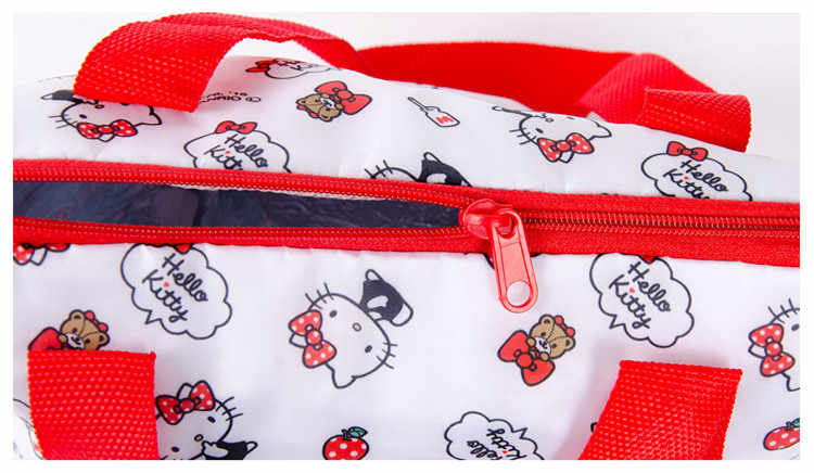 ... Cute Hello Kitty Little Twin Stars Insulated Lunch Box Tote Bags for Women  Girls Kids School 085361a8ff2fb
