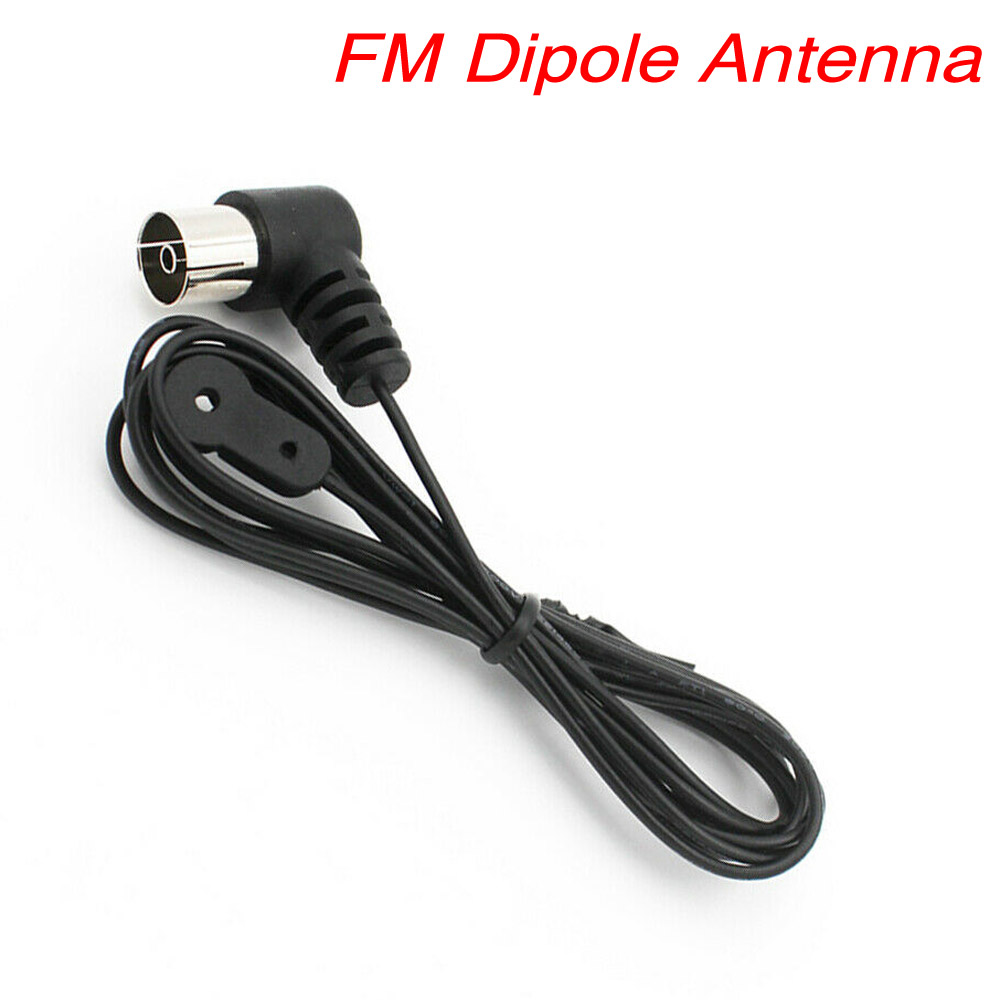 NEW FM Radio Indoor Antenna Push-On PAL Connector for home theater receiver HiFi