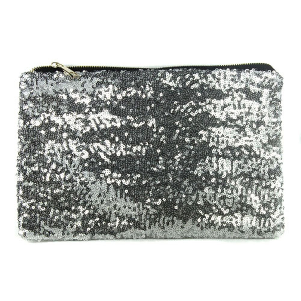 TFTP-Party Evening Bag Dazzling Sequins Handbag Wallet Purse Glitter Spangle Clutch