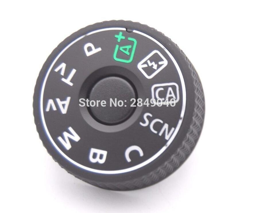 SLR Digital Camera Repair And Replacement Parts For EOS 70D Top Cover Function Mode Dial For Canon