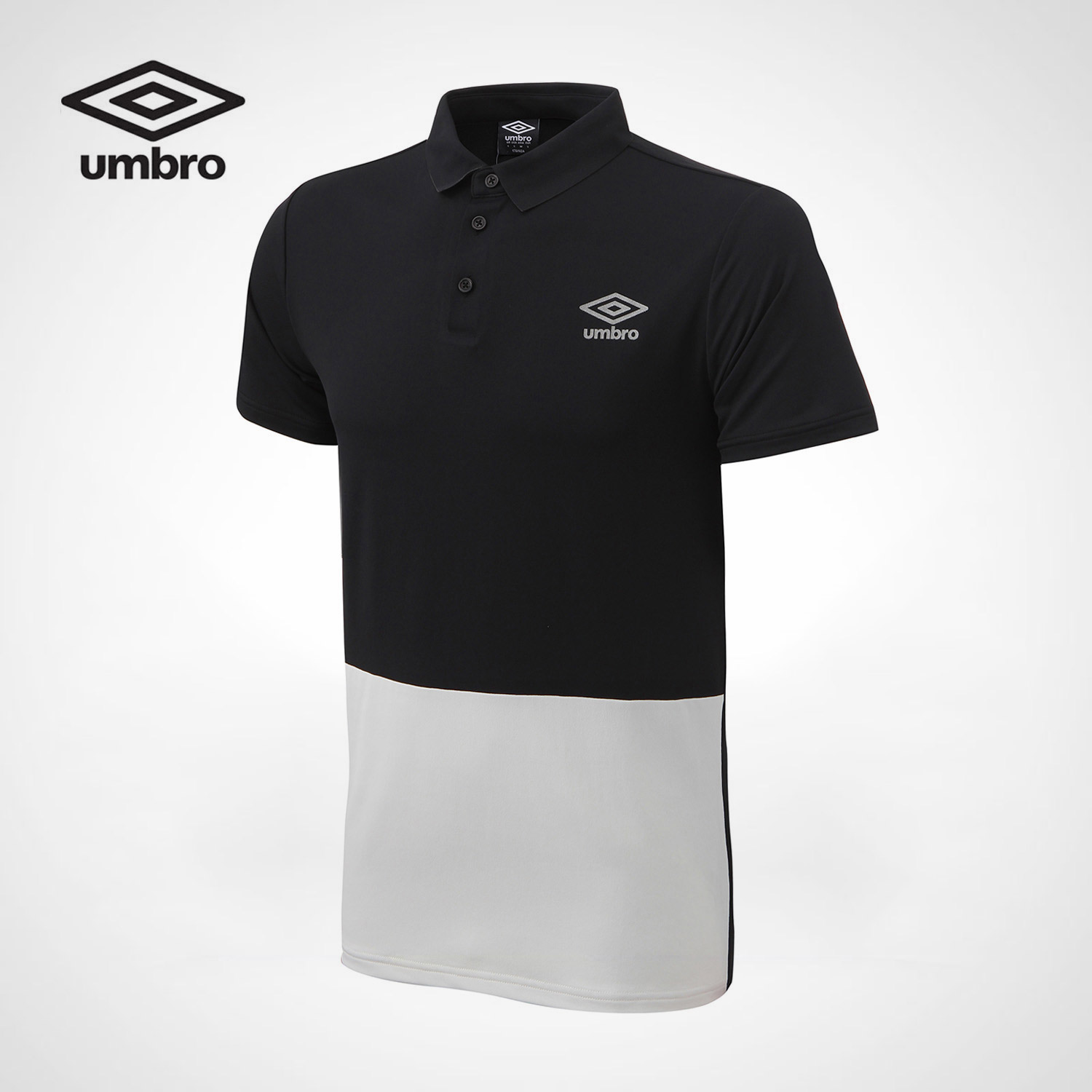 Umbro 2017 New Men Sports Short Sleeved Polo Sweater POLO Shirt Men Cotton Two-color Spo ...