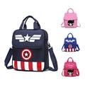 Capitán América mochilas Bolsa de La Escuela Infantil de Dibujos Animados/de los niños de kindergarten mochila/niños mochilas escolares/Mochila para niños y niñas