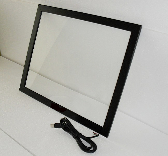 55 Truely 6 Points Multitouch USB Infrared IR Touch Screen Frame/Panel for advertising kiosk, Plug and play