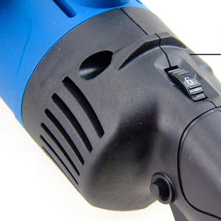 1400w rettifica per metallo 6 velocità Polishe Drawbench 690-3800rpm - Utensili elettrici - Fotografia 4