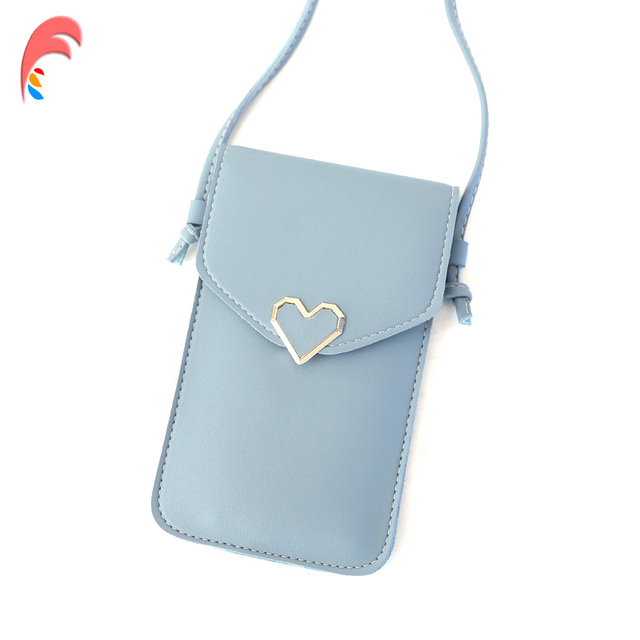 dd77e9d6 New Phone Bag Women Mini Bags PU Leather Small Chain Clutch Crossbody Girl  Shoulder Messenger Evening Bag