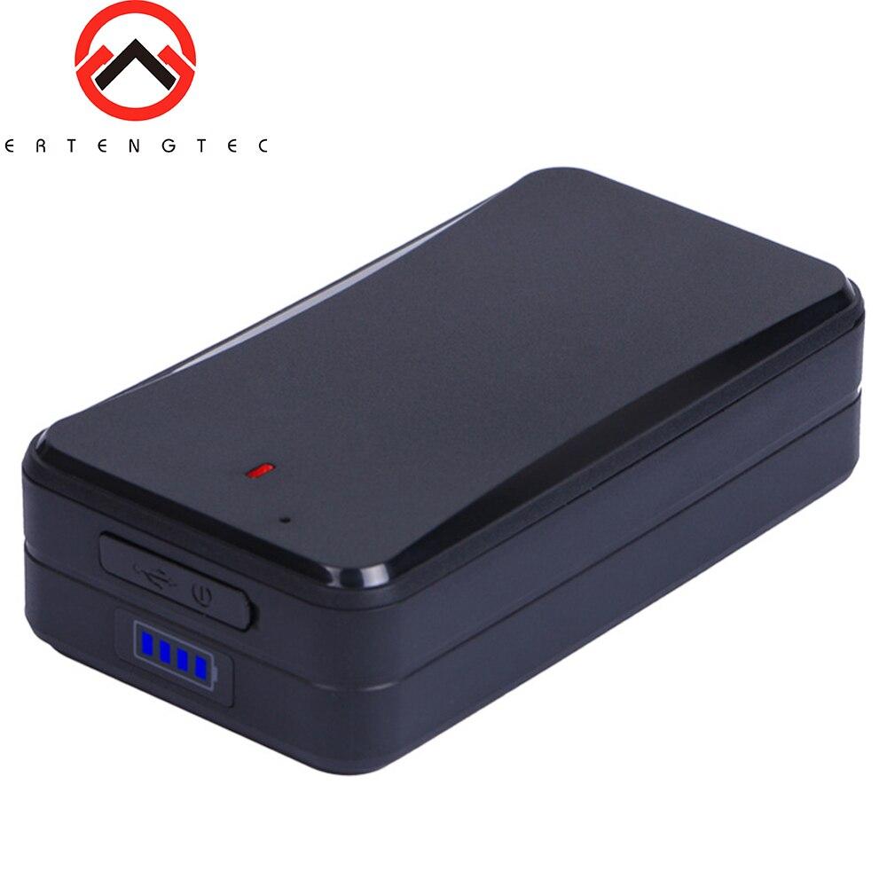 AT4 GPS Tracker voiture forte aimants GPS véhicule Tracker 10000 mAh surveillance vocale alarme de bourreur WIFI LBS GPS localisateur logiciel gratuit