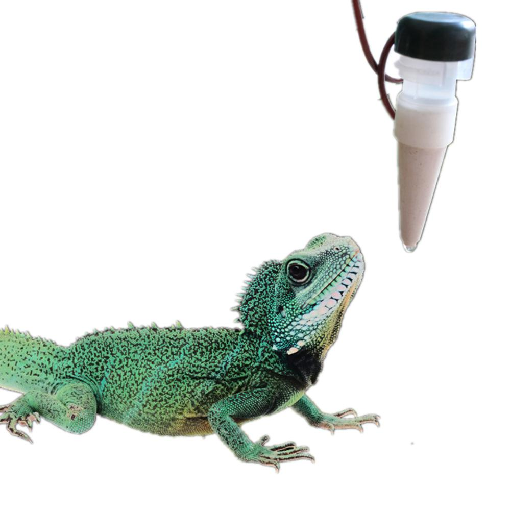 HiMISS 1300ML Reptile Water Filter Drip System Drinking Fountain Water Dispenser Humidifier For Chameleon Lizard Gecko
