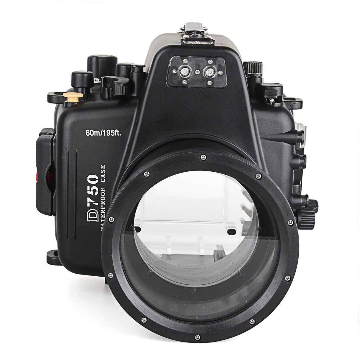 Meikon Waterproof Underwater Camera Housing Case Diving Equipment 60m/195ft for Nikon D750