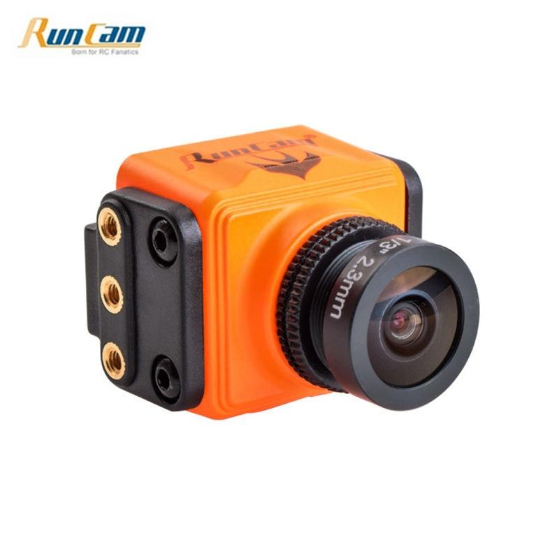 RunCam Swift Mini 2 600TVL 2.1mm/2.3mm 1/3 CCD One Touch Scene Setting FPV Camera for RC Drone Quadcopter Orange VS Split 2 runcam swift original 600tvl mini fpv camera ir block 90 angle 2 8mm lens