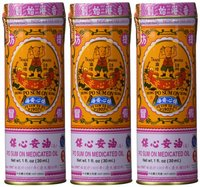 Po Sum On Medicated Oil 30 Ml 1 Oz 3 Bottles
