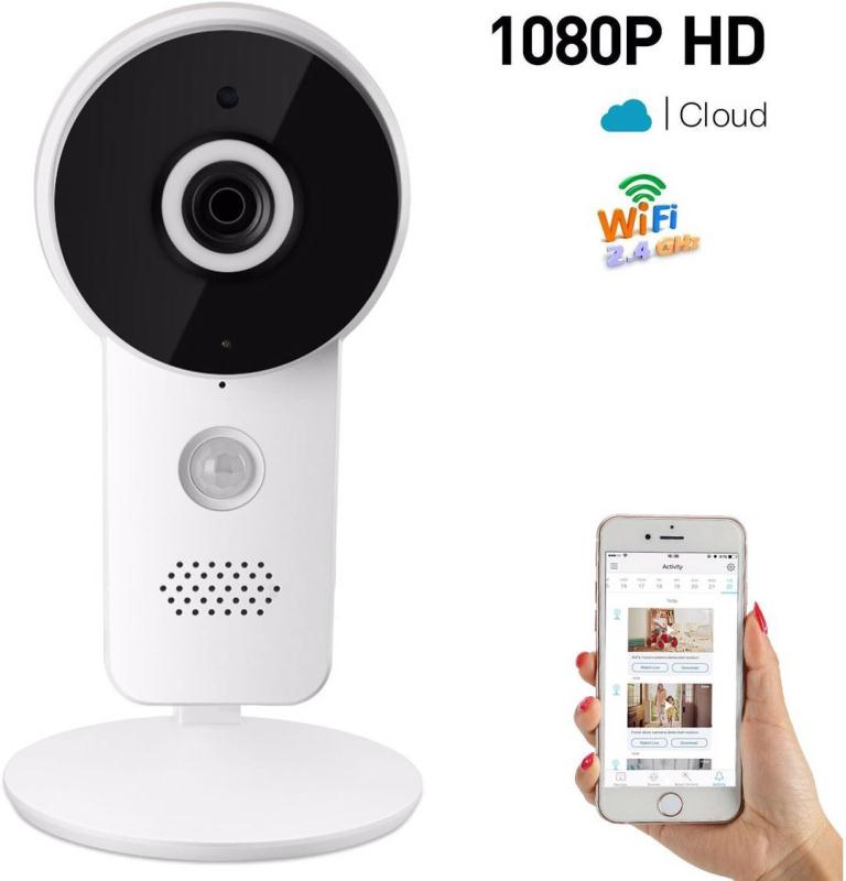 K10 1080P Wireless Video Color Baby Monitor High Resolution Baby Nanny Security Camera N ...