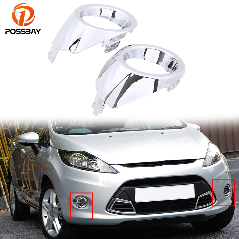 Fit for Ford Fiesta Hatchback 5-Door 2012-2016 Facelift Fog Light Cover Right